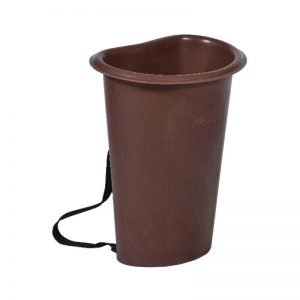 ROTO grape bucket 60 L brown