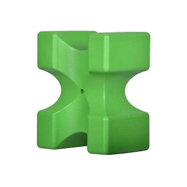 ROTO nosilec za oviro X zelen