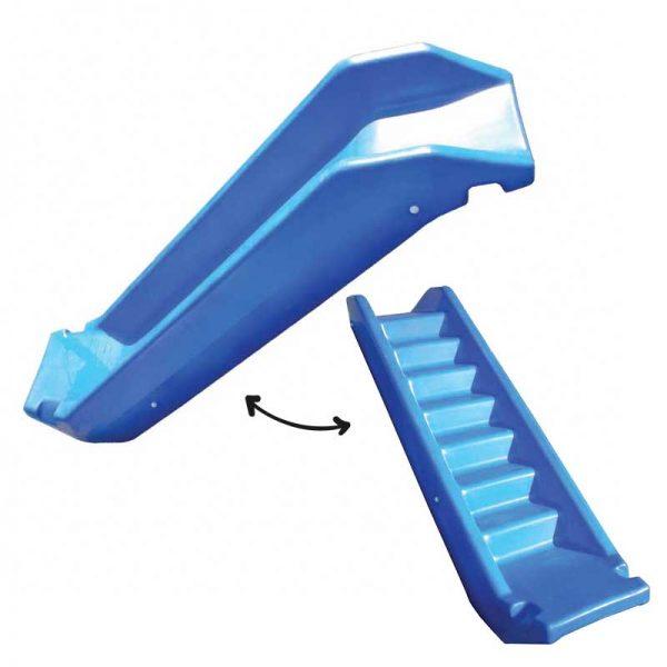 ROTO vrtno otroško igralo ROTIKOM - tobogan / stopnice modra