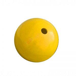 ROTO žoga za konjske prigrizke rumena