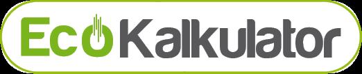 Logo Eko kalkulator za izračun velikosti rezervoarjev za vodo, čistilnih naprav, lovilcev olj, lovilec maščob