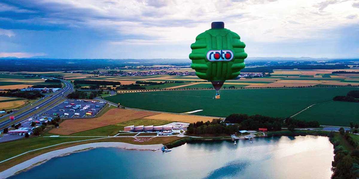ROTO svetovni dan voda AKCIJA, POPUSTI promocijski toplozračni balon