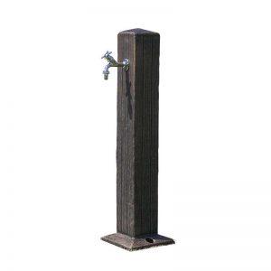 Steber za odvzem vode Zeus imitacija rjavega lesa
