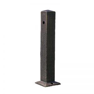 Steber za odvzem vode Zeus imitacija rjavega lesa brez opreme