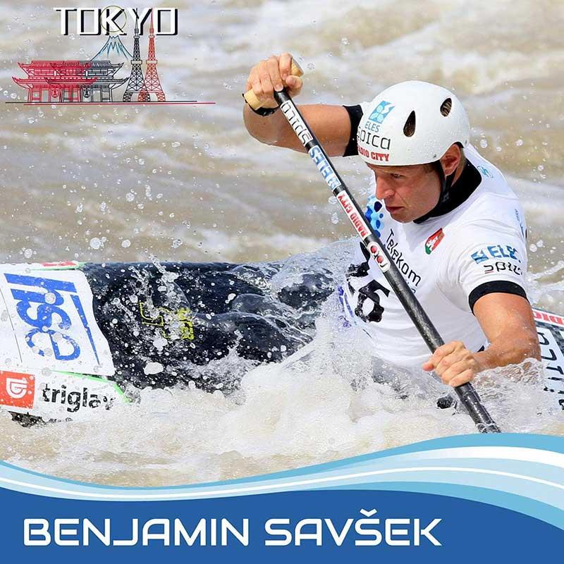 Benjamin Savšek osvojil zlato olimpijsko kolajno ROTO kajaki