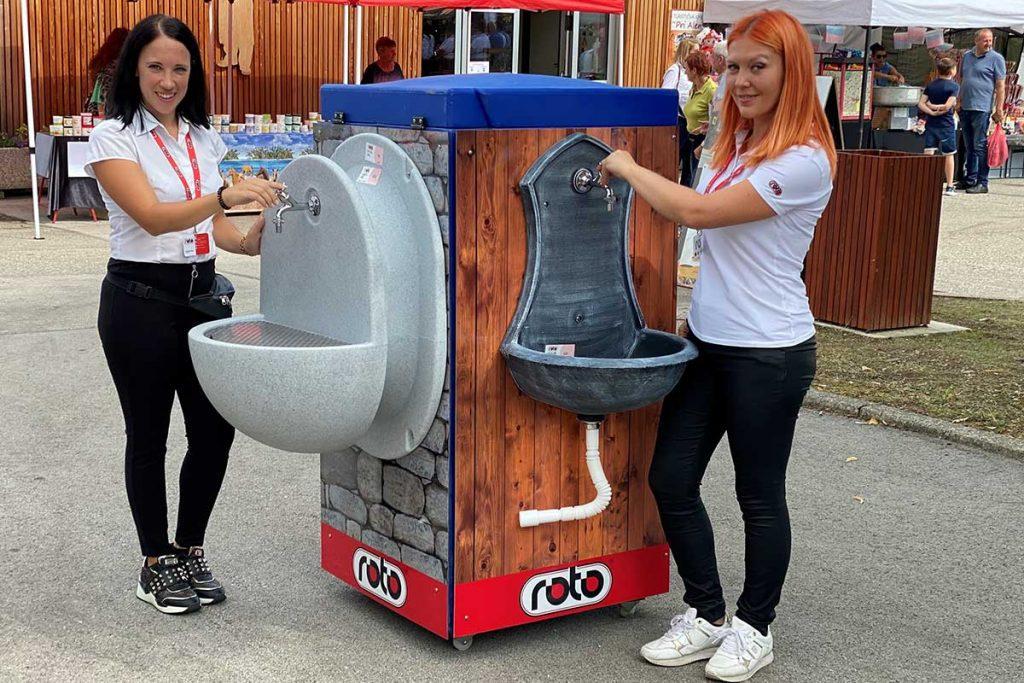 ROTO novica sejem Agra predstavitev novosti vrtni umivalniki