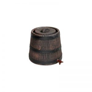 Essigbehälter-Holzimitation
