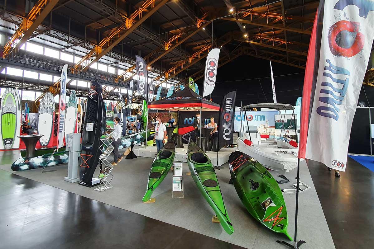 Roto sejem The Paddle Sports Show Lyon Francija kajaki kanuji inovativne rešitve reciklirani čolni